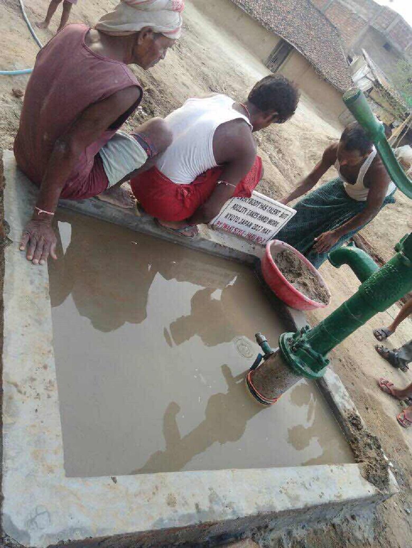 【イワキの井戸を掘るプロジェクト】 3基目が完成しました。;