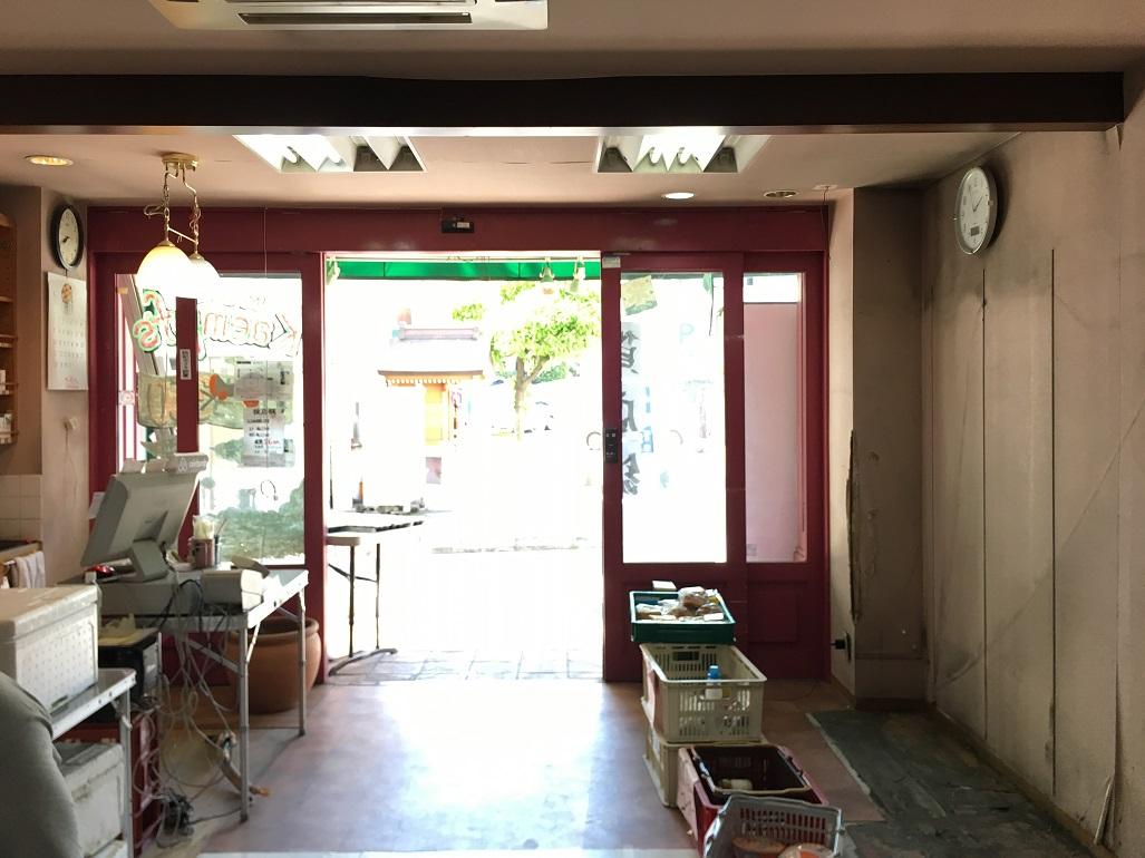 新たな現場は神戸三宮でございます。カフェの移転工事を神戸の職人さんと共に頑張って参ります!;