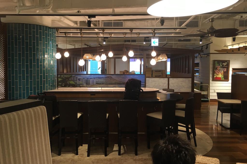 大阪なんばCITYにて短期夜間工事。メインカラーの変更でガラッと雰囲気がかわりました!!;