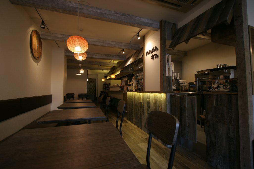 神戸三ノ宮のカフェ。「のわのわカフェ」様 祝オープン!& 竣工写真撮影してまいりました。;
