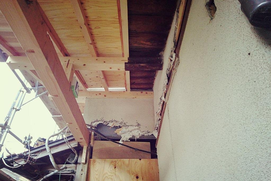 東山別荘は増築工事に入りました!!!;