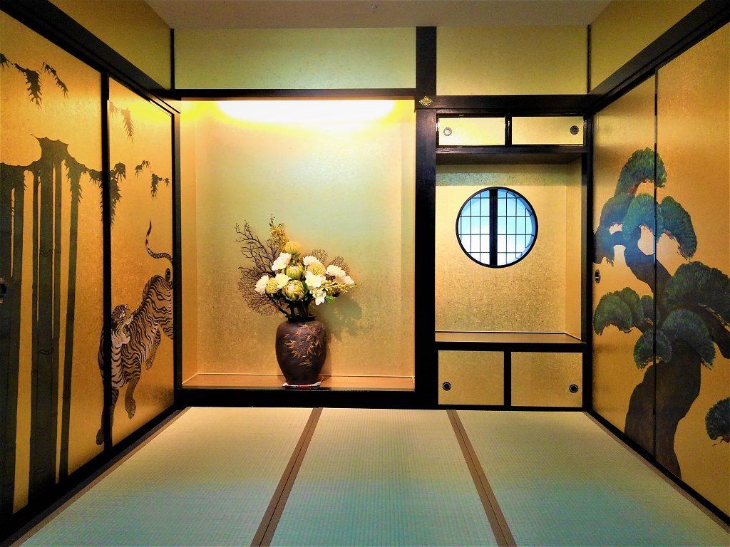 着物写真専用フォトスタジオ「京都きもの&スタイル」の仕上げが完了しました。;