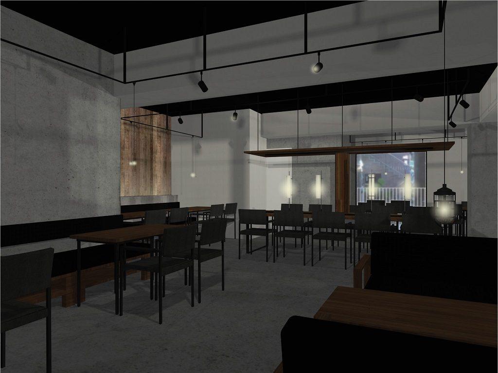 VRカフェ新装工事は来週から工事着工でございます。本日は着工前の現場段取りをご紹介!!;