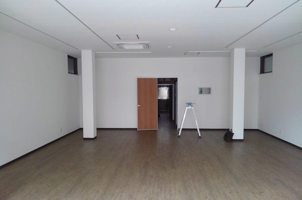 三条御前通りにて新たな現場、彫金教室の工事が始まっております!!;
