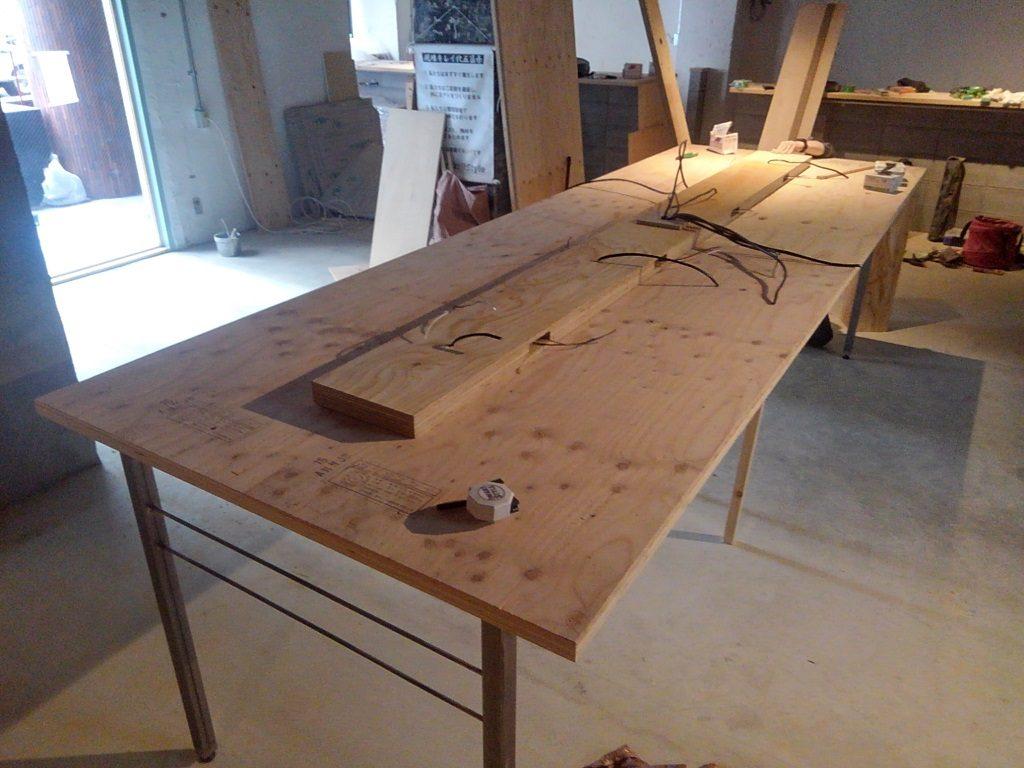 オリジナル大テーブルの作り方~10人用~;