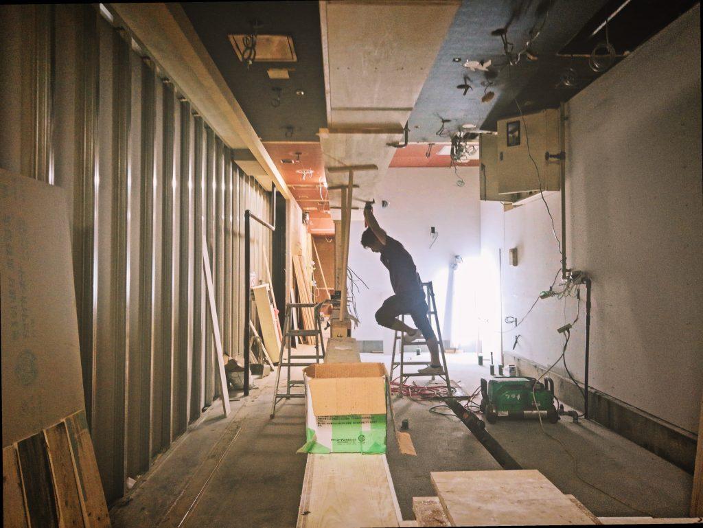 滋賀県草津カキマサ2nd様の工事もガシガシ進んでおります;