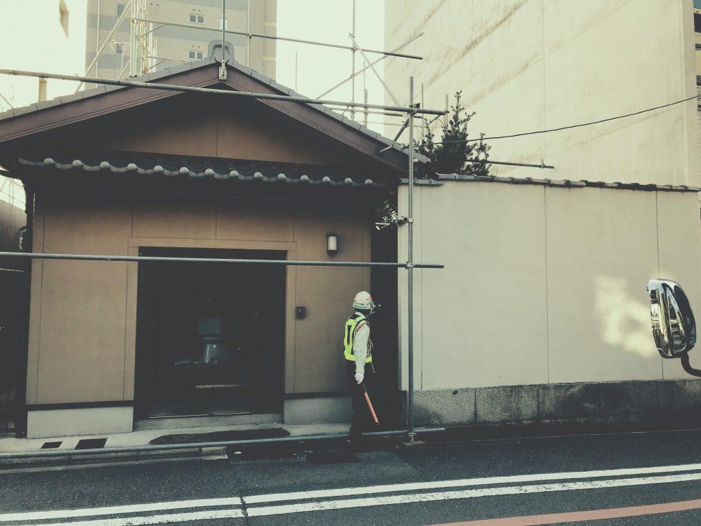 京都/麩屋町六角/新たな工事が始まりましたby イワキスタイル;