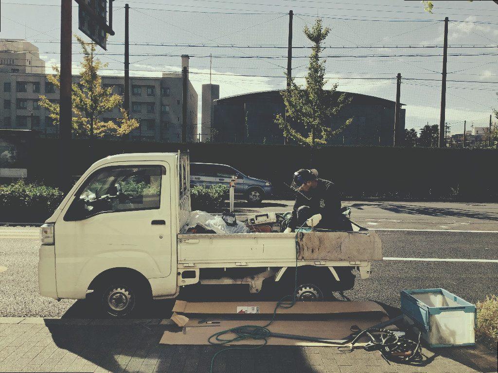 京都北山ROCCA様 再びアフター工事です!;