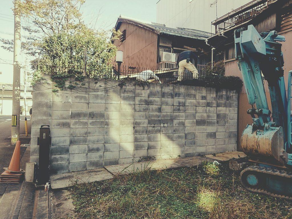 川端七条では鉄板料理「KIMURA」様の工事が始まっております!;
