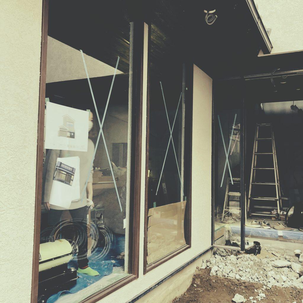 京都麩屋町六角ワインバーの最近の工事をご紹介!;