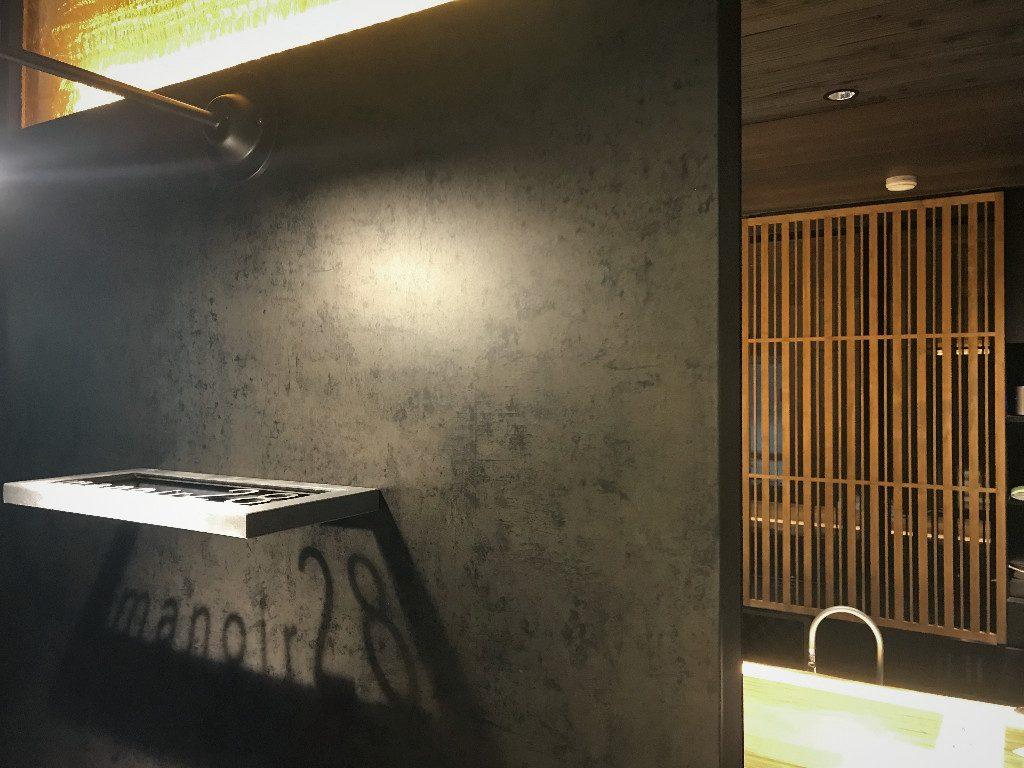京都ワインバー/おしゃれなサイン;