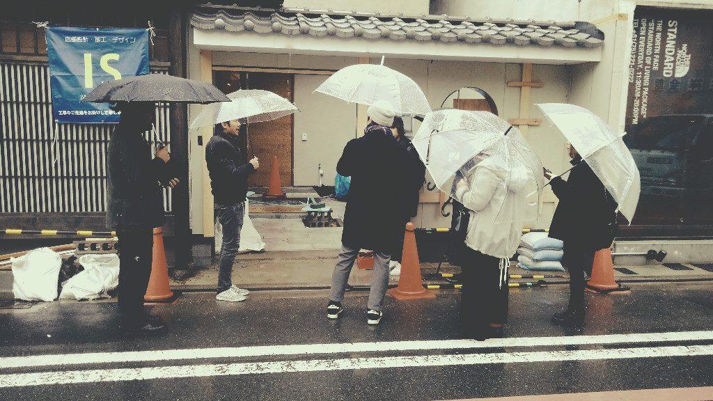 連日ご紹介している京都麩屋町六角のmanoir28様。今日はスタッフ全員で行って参りました!;