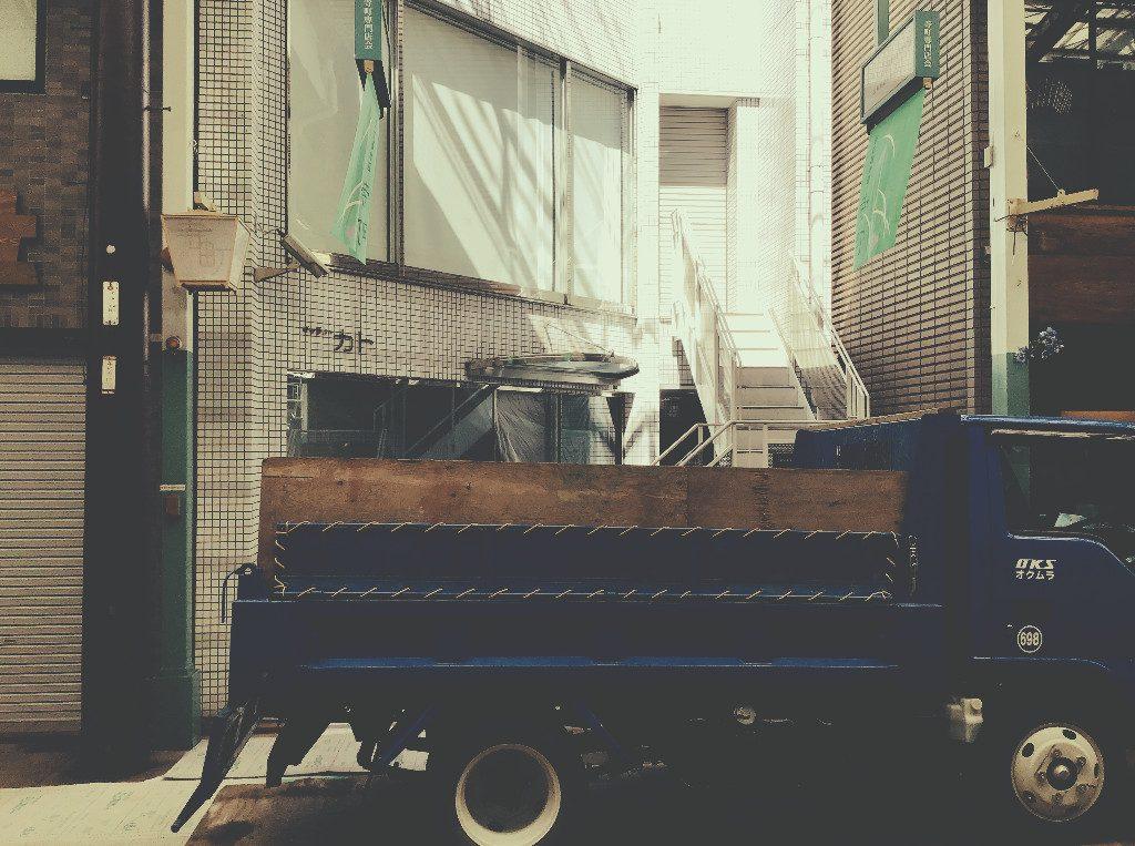 寺町御池で新しい工事が始まりました!;