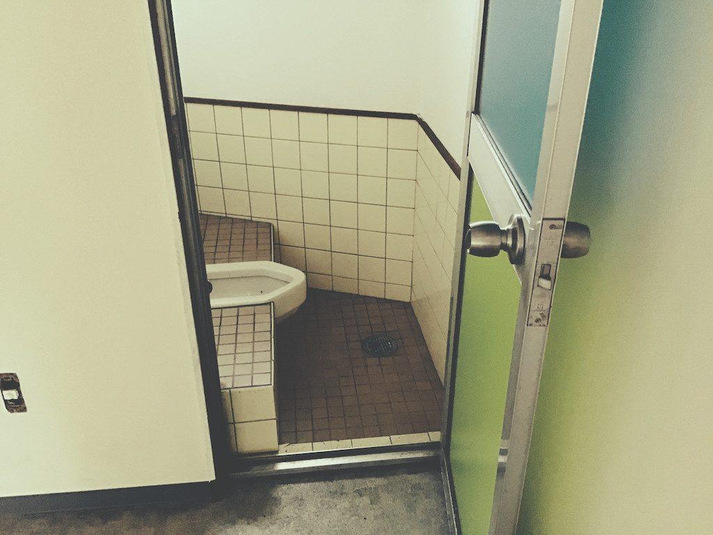 西京区では鍼灸院の工事が始まっています;