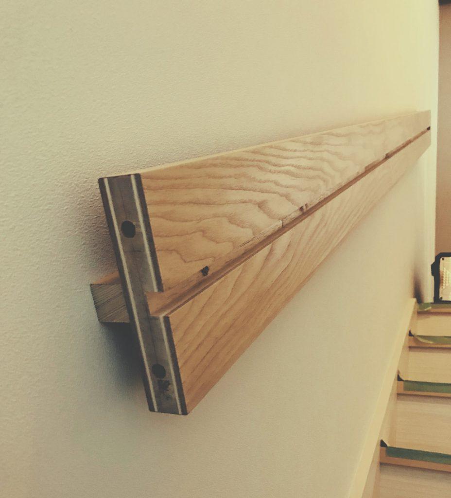 階段手摺の作り方;