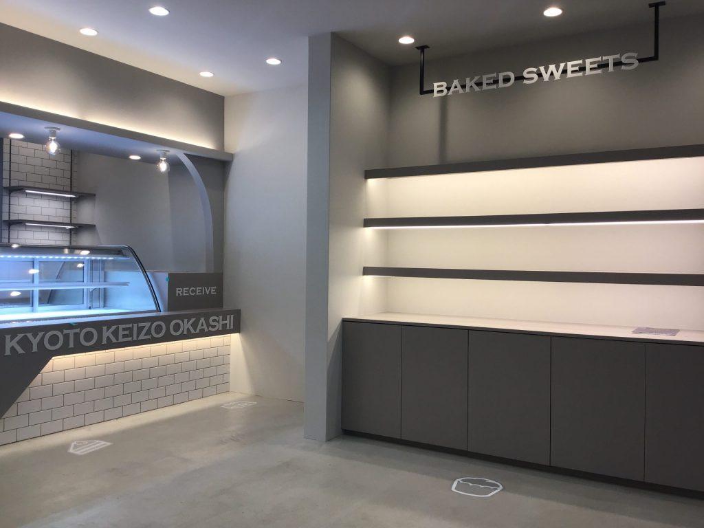 三条会商店街KYOTOKEIZOOKASHI様竣工となりました。;