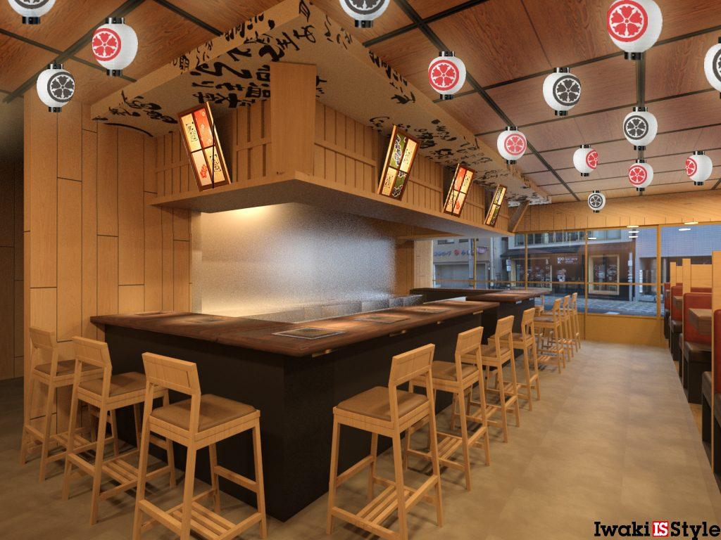 やる気様京都駅前七条通り店。手書きしております。;