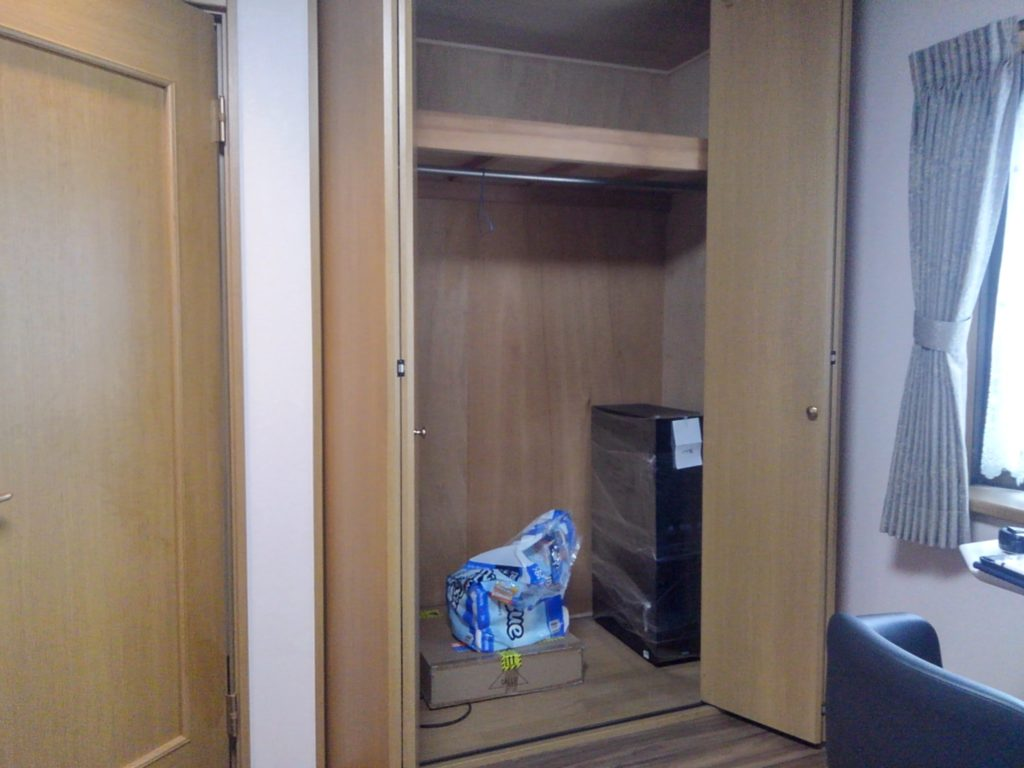 Le Soleil NORI様では3階の1室を改装中です;