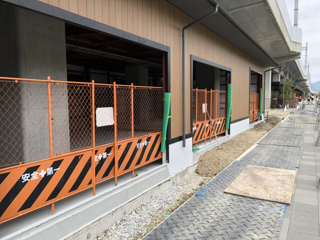 スポーツ施設、卓球場の新装現場が始まります。;