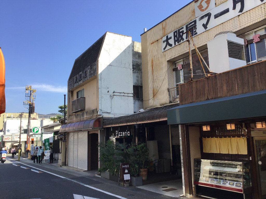京都宇治橋商店街のホットスポットで工事着工しております。;