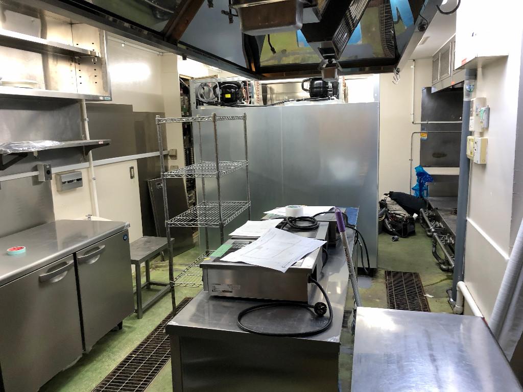 麺匠たか松様京都駅ビル店。お引渡し間近です。;